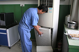 空氣能熱泵熱水器維修方法簡述